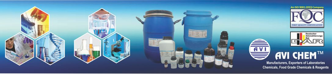 manufacturers of LABORATORY CHEMICALS AVI CHEM INDUSTRIES MUMBAI